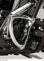 Yamaha Raider custom chrome engine guards