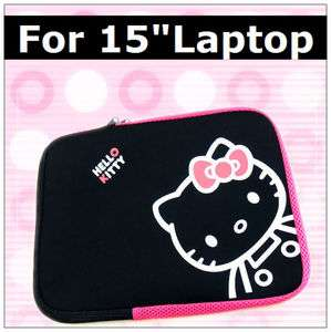 Hello Kitty Sleeve Case Laptop Bag for 15 15.4 Macbook