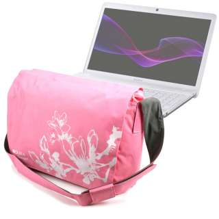 Padded Laptop Shoulder Bag/Case For Sony Vaio C Series 15.5 & E