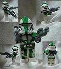 LEGO Star Wars Commander Gree Custom Mini Figure W/2 A