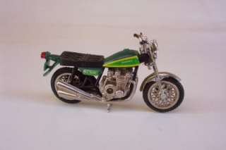 KZ900 Street Bike RIDGE RIDERS 80s ZEE TOYS 124 Motorcycle Green Vtg