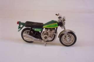 KZ900 Street Bike RIDGE RIDERS 80s ZEE TOYS 124 Motorcycle Green Vtg