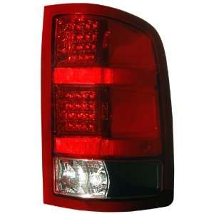 Anzo USA 311090 GMC Sierra Black LED Tail Light Assembly   (Sold in