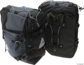Axiom Champlain Deluxe Pannier Set Black/Gray 058817898549