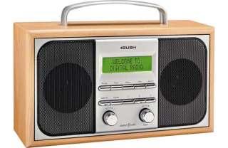 buy bush outline stereo dab radio wood at your online. Black Bedroom Furniture Sets. Home Design Ideas