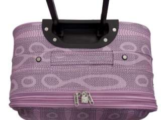 Piece Pink Super Light Weight Luggage Suitcase Set