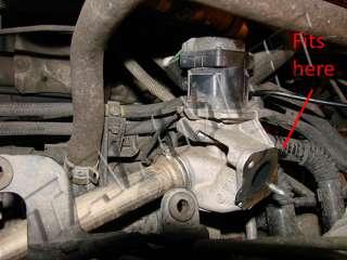 EGR valve blanking block plate PEUGEOT CITROEN FORD VOLVO 1.4 1.6 HDI