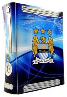 Official Man City FC Skin Cover For Xbox 360 Console