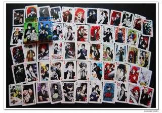 Kuroshitsuji Black Butler Poker Jeu De 54 Cartes A 黒執事