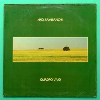 LP KIKO ZAMBIANCHI QUADRO VIVO SOFT ROCK POP 86 BRAZIL