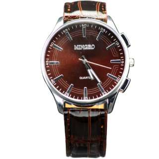 Promotional Men Boy Leatheroid Casual Sport Wrist Watch Watches