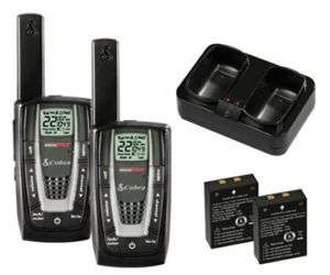 COBRA CXR725 2 TWO WAY RADIO WALKIE TALKIES 27 MILE NEW