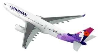 nifique modèle de l'avion Airbus A330 200 aux couleurs dHawaiian
