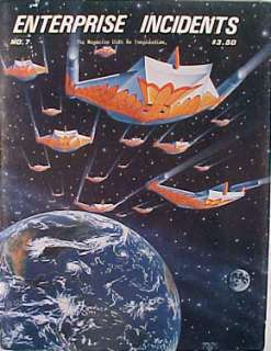 1979 ENTERPRISE INCIDENTS #7 Magazine Star Trek Zine