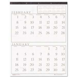 House of Doolittle 370 Two Months per Page Wall Calendar