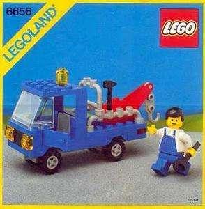 Lego 6656 Legoland Carro soccorso stradale (1985)