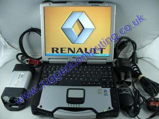 PANASONIC CF29 TOUGHBOOK RENAULT DIAGNOSTICS MODELS TO 2012 DEALER