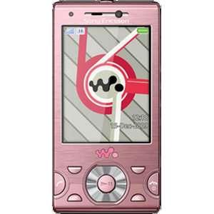 Sony Ericsson Walkman W995   Metro pink Unlocked Mobile Phone