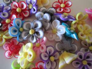 perle perline fimo fiore 21 mm bigiotteria charms