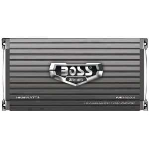 BOSS AUDIO AR1600.4 ARMOR MOSFET POWER AMPLIFIER WITH