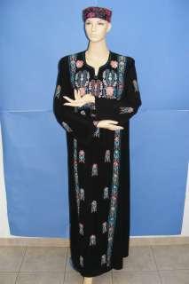 NWT Jordan Jordanian Jilbab Arabic Islamic Abaya Caftan Maxi Cocktail
