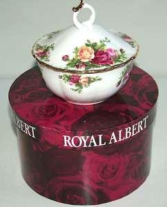Royal Albert Old Country Roses Powder Bowl BNIB