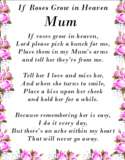 Bereavement Grave Card SISTER Birthday Memorial no53