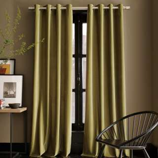 Velvet Grommet Window Panel  west elm