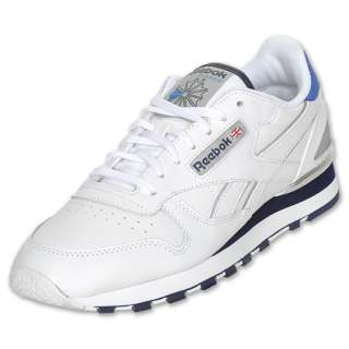 Reebok Classic Leather Clip Mens Casual Shoe  FinishLine  White