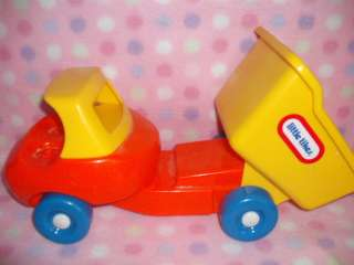 LITTLE TIKES TOTTLE TOTS VINTAGE TOY DUMP TRUCK FUN!