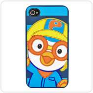 Samsung Galaxy S2 4G Pororo Orange 3D Silicon Mobile Phone Cover New
