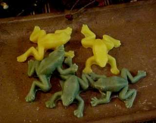 Frogs 4 Cavity Silicone Mold # 734