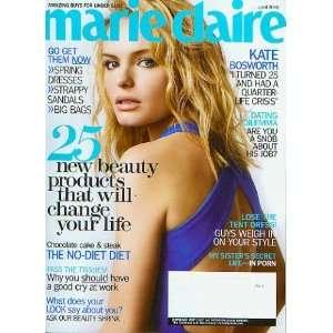Marie Claire April 2008 Kate Bosworth (Vol 15 No. 4