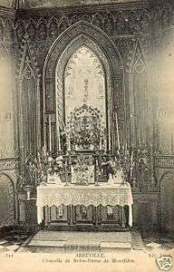 80   cpa   ABBEVILLE   Chapelle Notre Dame de Montfière