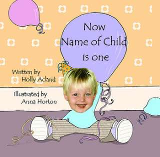 photo personalised first birthday book for children by itsyourstory