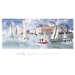 dans le Port de Trouville by Raoul Dufy 40x24 Health & Personal Care