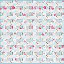 PiP Studio Birds in Paradise patch quilt white