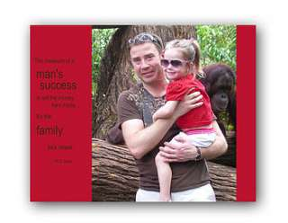 personalised fathers day photo canvas by the poetry studio