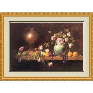 wih Apricos by Rober A. Johnson   Framed Arwork Home & Kichen