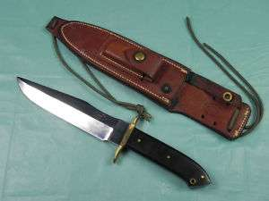 RARE US 1970 John L KEMP Custom Handmade Fighting Knife