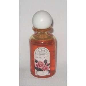 Sarah Michaels Rose Natural Shower Gel, 2.2 fl. oz (65 ml