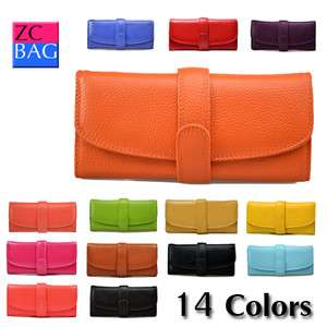 Most Popular Genuine Leather Ladys Wallets Hand Bag