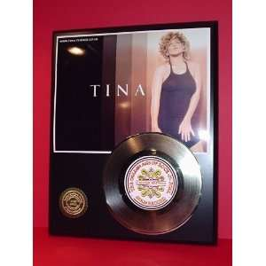 TINA TURNER GOLD RECORD LIMITED EDITION DISPLAY