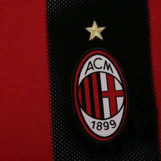 AC Milan Youth adidas Soccer Home Replica Jersey