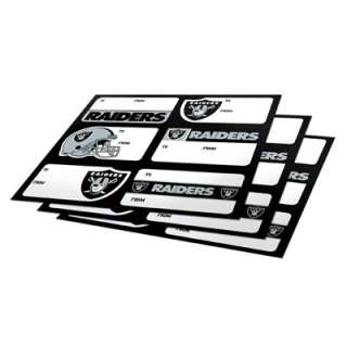 Oakland Raiders Gift Stickers