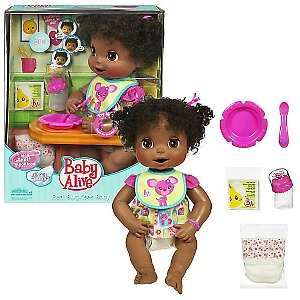 Baby Alive African American Baby Eva Doll at HSN