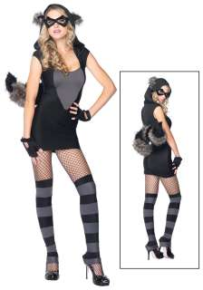 Costumes Animal & Bug Costumes Raccoon Costumes Sexy Raccoon Costume