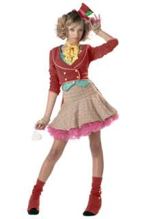 Alice in Wonderland Costumes Mad Hatter Costumes Teen Girls Mad Hatter