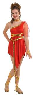 Teen Ruby Red Goddess Costume   Roman and Greek Costumes