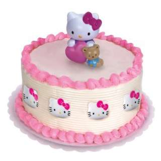 Hello Kitty Cake Topper and 8 Rings   Costumes, 42897